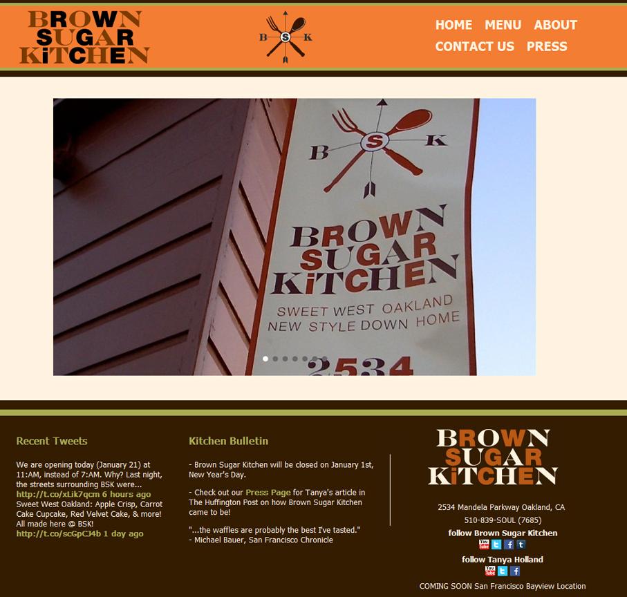 Brown Sugar Kitchen » Design + Web Missoula